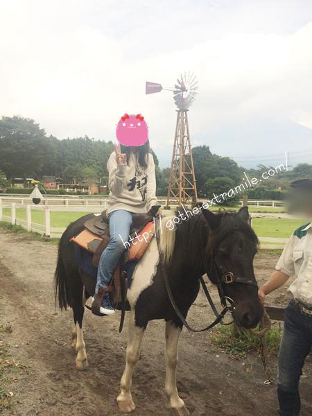 まかいの牧場 乗馬体験