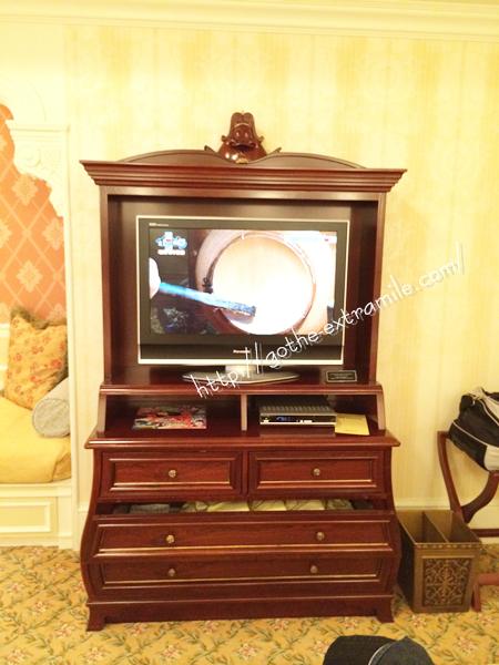 ディズニーランドホテル テレビ
