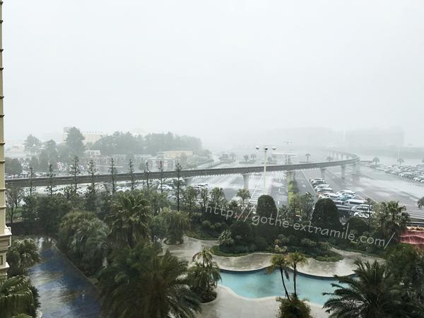 ディズニーリゾート 雨