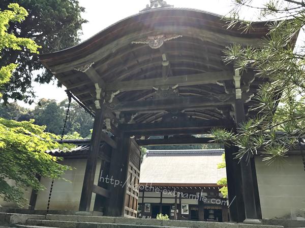 二尊院 勅使門