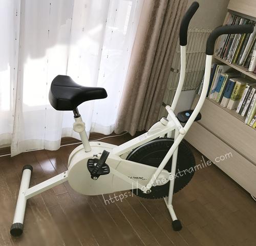 エアロバイク 筋トレ サイクルツイスタースリム