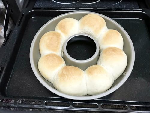 ちぎりパン焼き上がり
